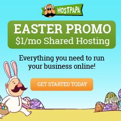 HostPapa 2019年复活节优惠无限主机仅$0.72/月